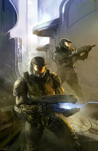 Арт обложки Halo: First Strike 2010