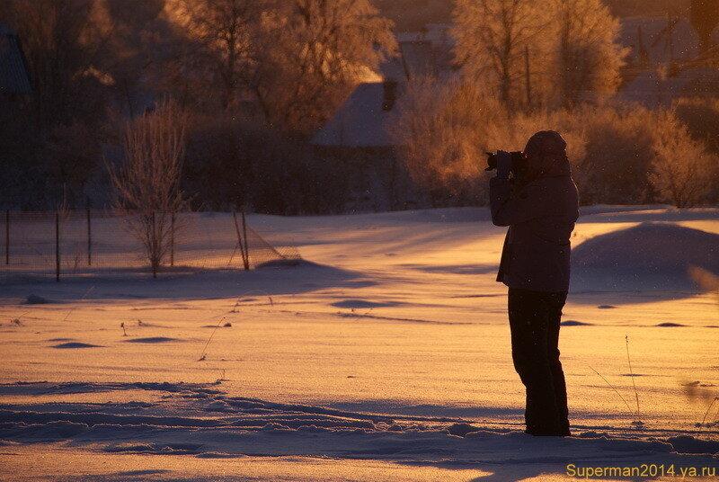 Фотограф на рассвете
