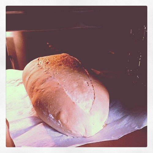 Заварной молочный хлеб