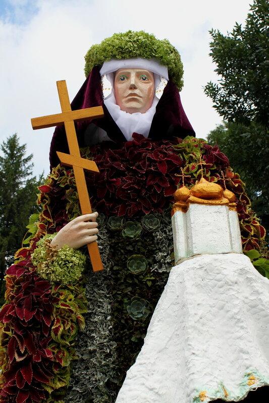 Выставка цветов к 2025-летию Крещения Руси