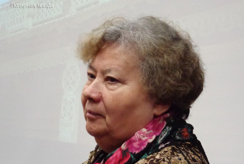 Екатерина Николаевна Коркина - саамская поэтесса