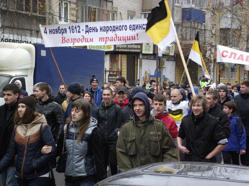 Русский марш в Тольятти 4.11.2013
