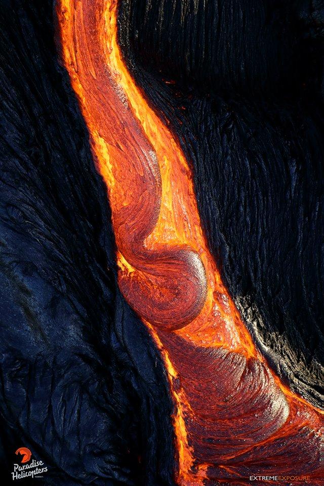 секс вагина пися писька женская Лава вулкана Килауэа Гавайи 09. 01. 2018