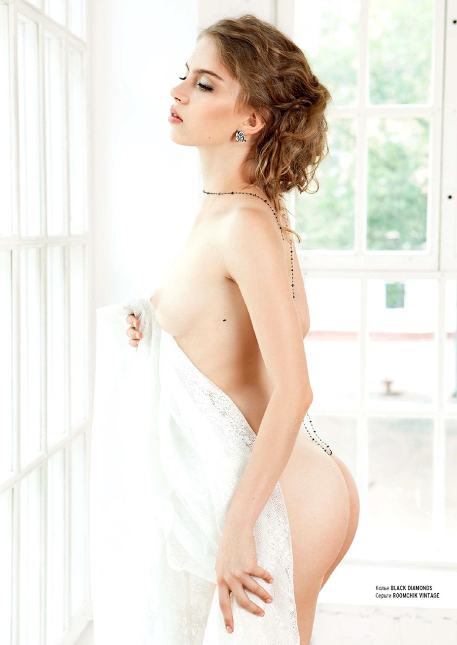 Анастасия Злобич - девушка месяца в Playboy Россия, сентябрь 2013