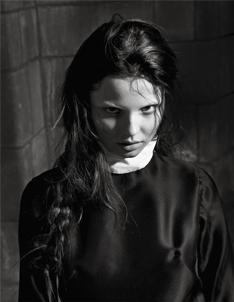 Сексуальные монахини / Nun Head by Sebastian Faena in POP Magazine FW 2008