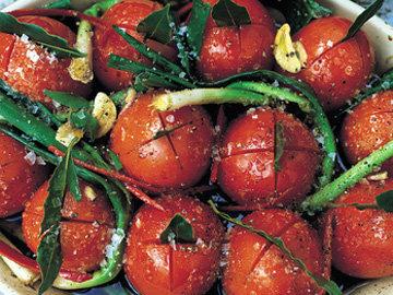 Как подать запеченные помидоры
