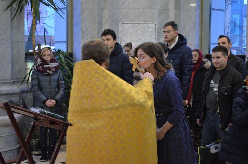В Кафедральном соборе совершен чин присоединения к православию из пятидесятничества