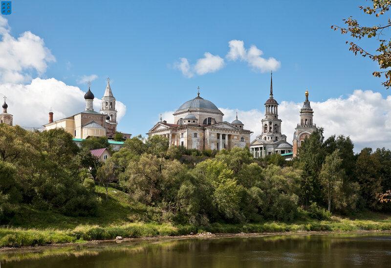 Торжок. Новоторжский Борисоглебский монастырь