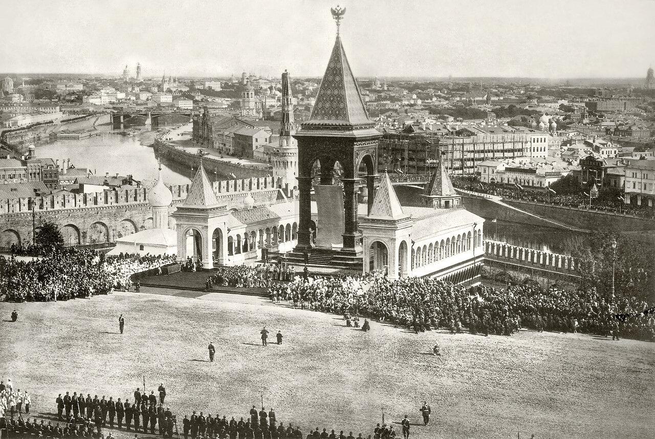 Открытие памятника Имп. Александру II в Кремле 16 августа 1898 г.