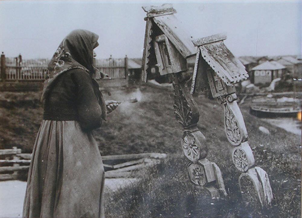 старухи в деревни