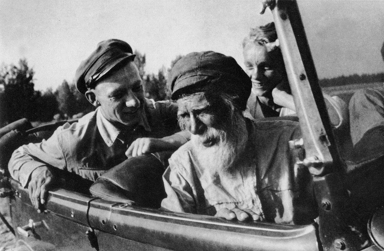 Инспектор по качеству дед Комаров. 1935 год.