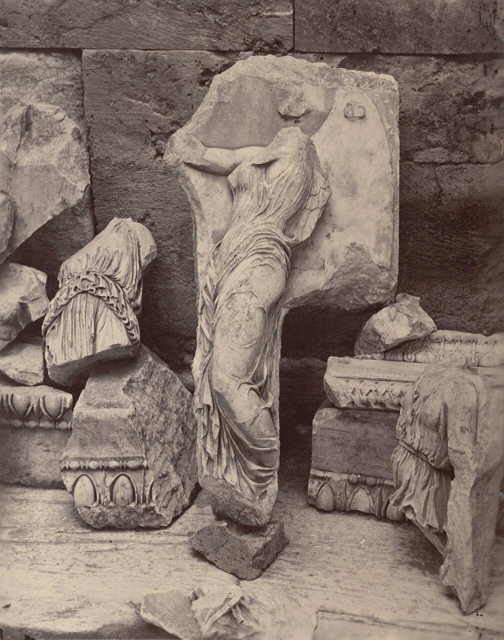 Фрагменты фриза 1869