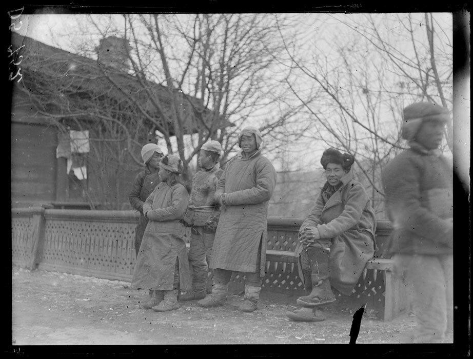 1919. Март-апрель. Маньчжурия. Китайские типы