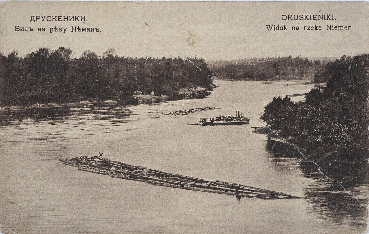 Вид на реку Неман. 1913