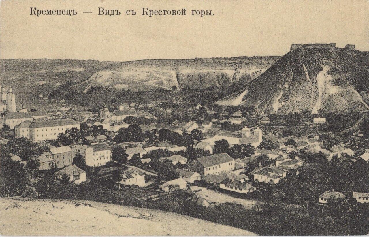 Вид с Крестовой горы