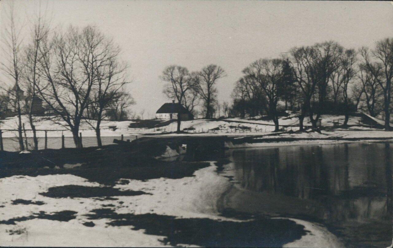 Река Стыра. 1918
