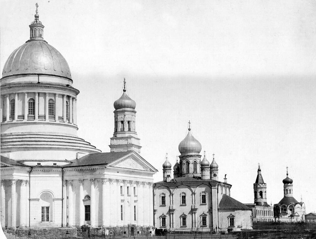 Соборная площадь. 1866