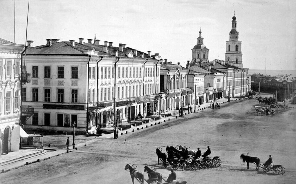 Большая Саратовская. 1880