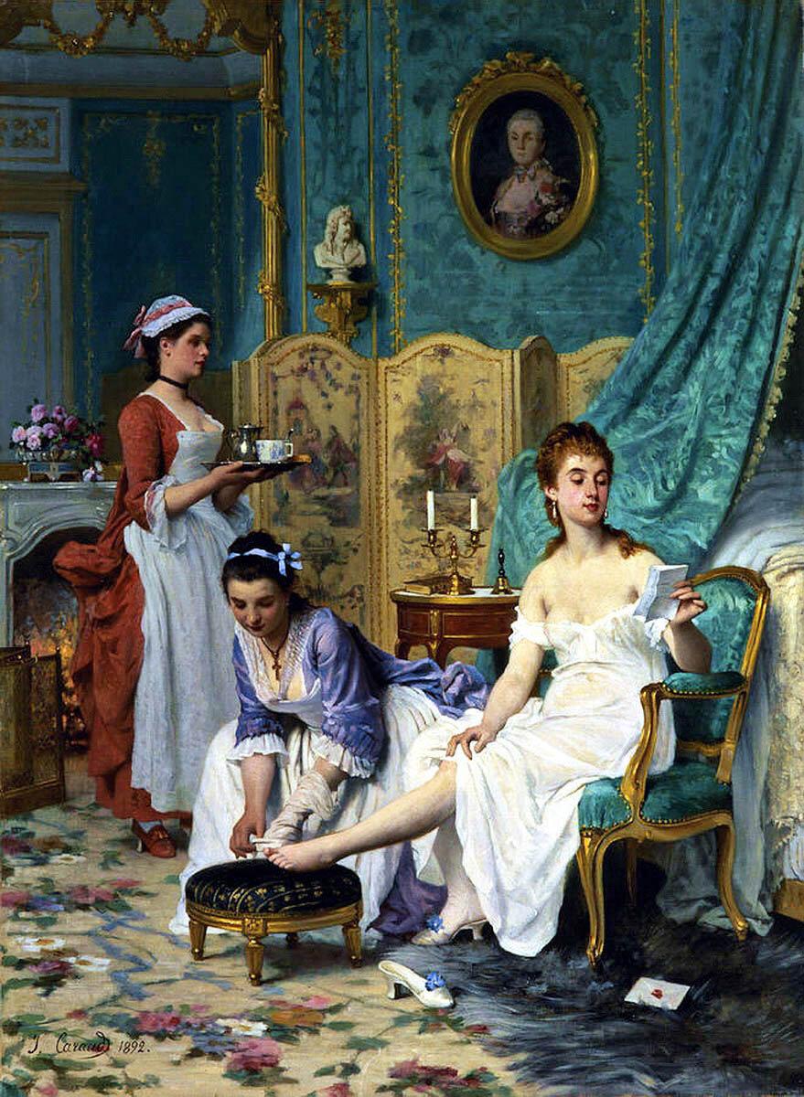 прохладность первых богатая леди и ее прислуга рабы формы клиторов
