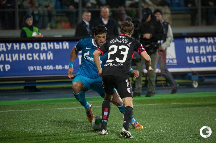 «Зенит» vs «Спартак» 4:2 Премьер-лига 2013-2014 (Фото)