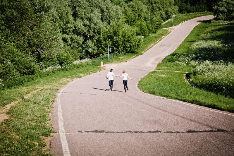 прогулка на Крылатских холмах