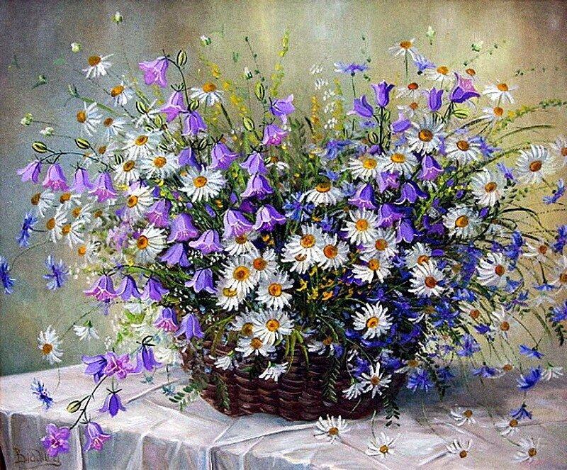 Босиком за счастьем. Летние цветы художников
