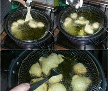 Обжаривать пончики