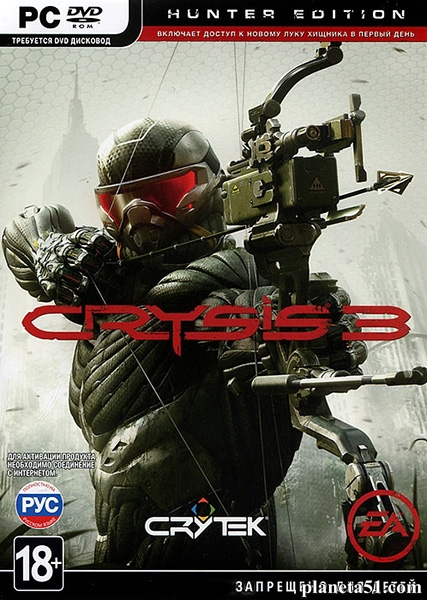Crysis 3: Deluxe Edition (2013/RUS/ENG/Repack/Rip)