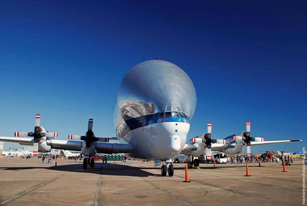 Super Guppy flies to Altus AFB gt Altus Air Force Base