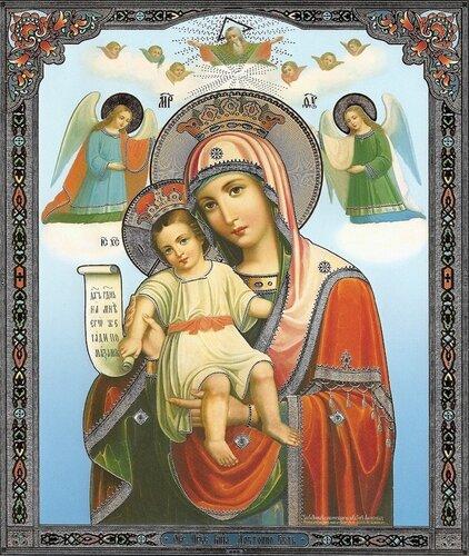 Икона Божией Матери «Достойно есть» («Милующая»)