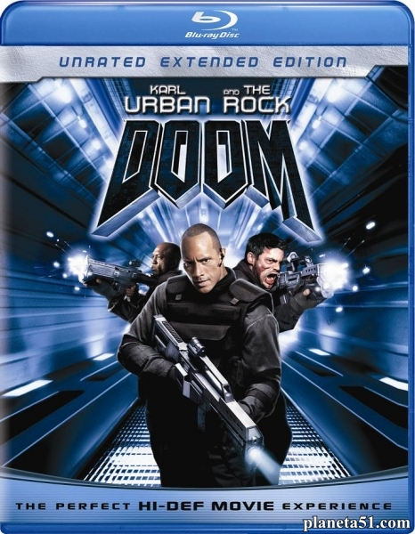 Doom / Doom (2005/HDRip/BDRip/Расширенная версия)
