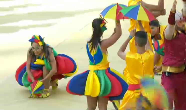 чм-2014 открытие танцы