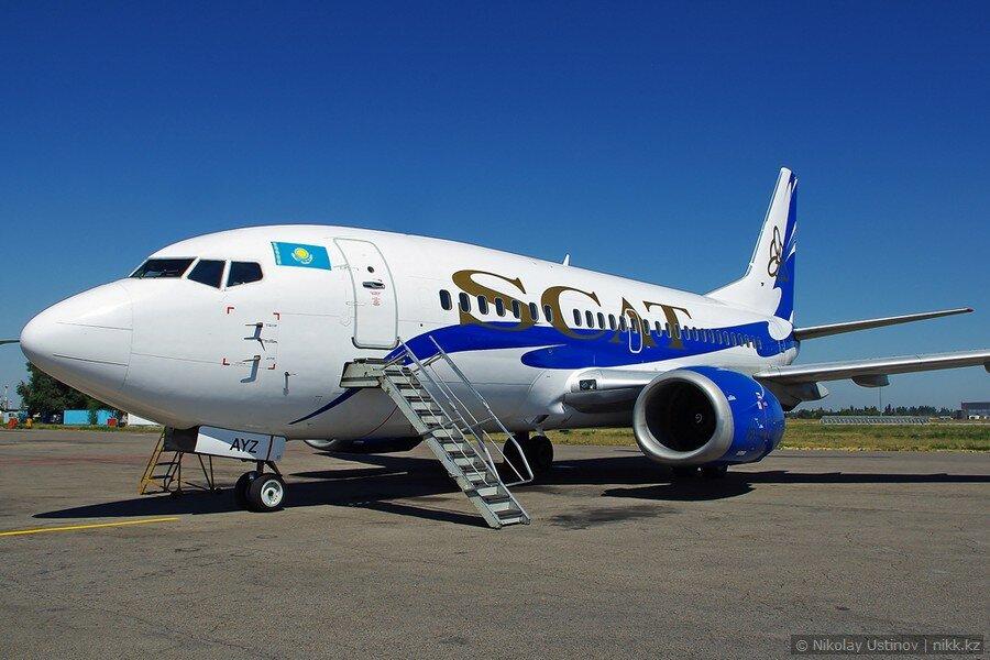 Боинг 737 авиакомпании Скат