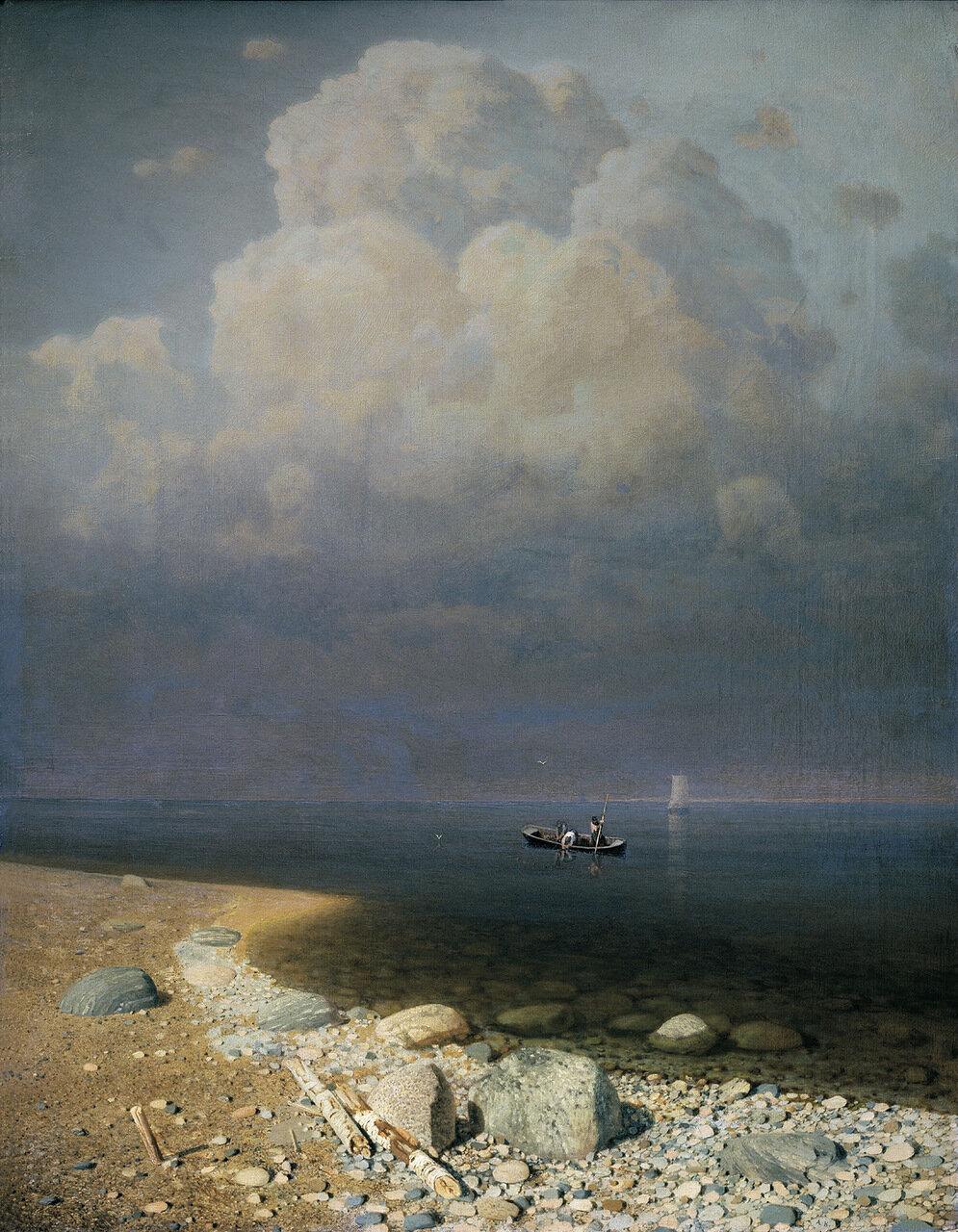 Ладожское озеро. 1870, холст, масло, 79,5х62,5 см.jpg