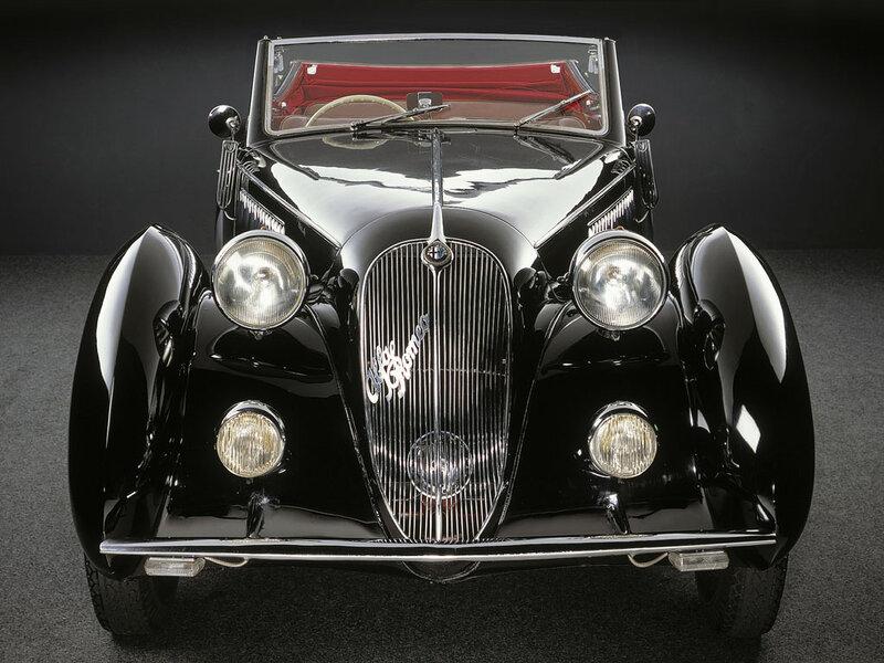 Alfa-Romeo-6C-2300-Worblaufen-Cabriolet-1938