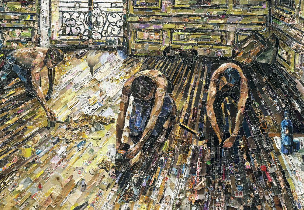 Картины современного художника Вика Муниса (10 фото)
