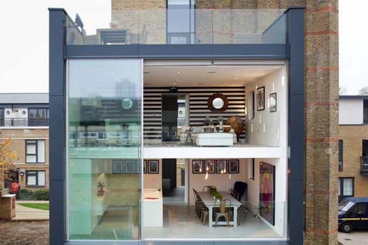 Лей Осборн и Грэхем Войс превратили водонапорную башню в шикарный жилой дом в центре Лондона. Дом в