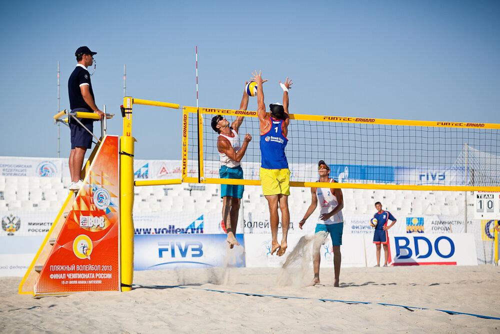 Пляжный волейбол в Анапе 2013
