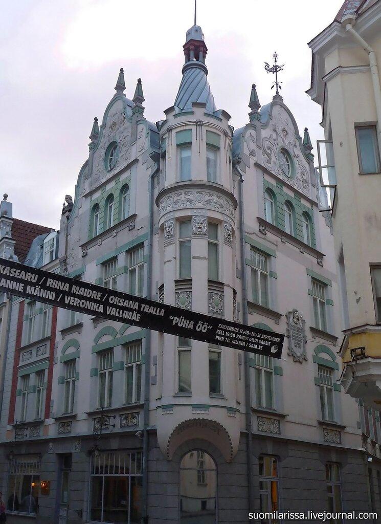 """Здание в стиле """"модерн"""", 1908-1909 гг."""