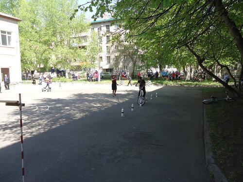 Конкурс велосипедистов в Куйбышеве