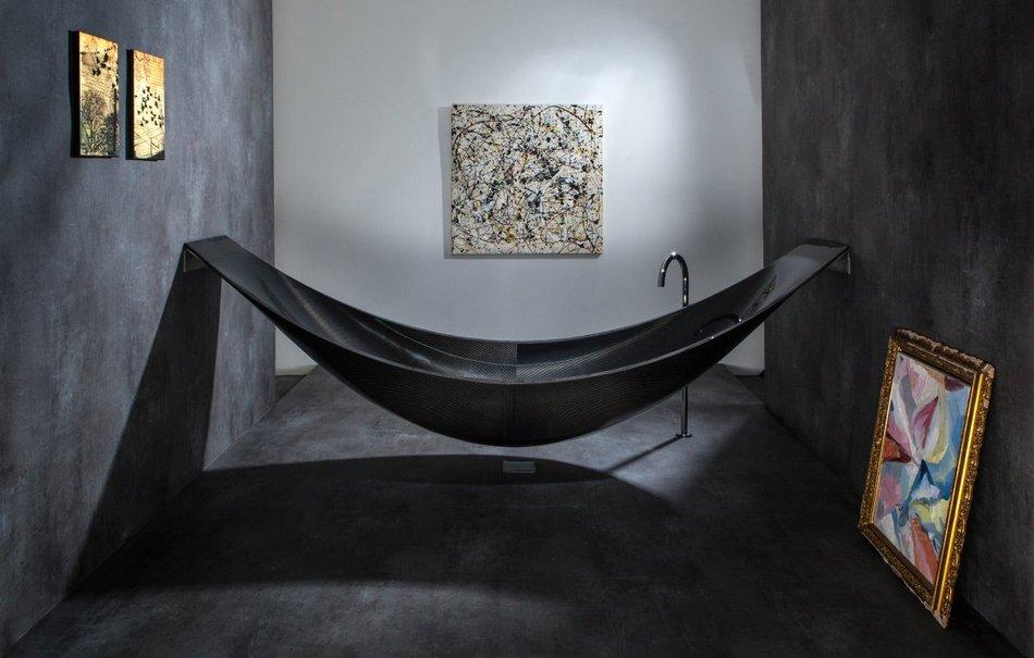 Подвесная ванная Vessel из углепластика