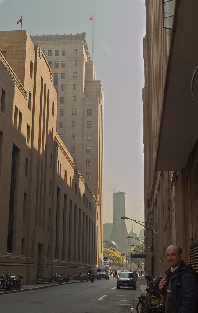 4. Подходим к набережной Вайтан (The Bund). Отзывы об экскурсиях за один день в Шанхае. Второе путешествие по Китаю.