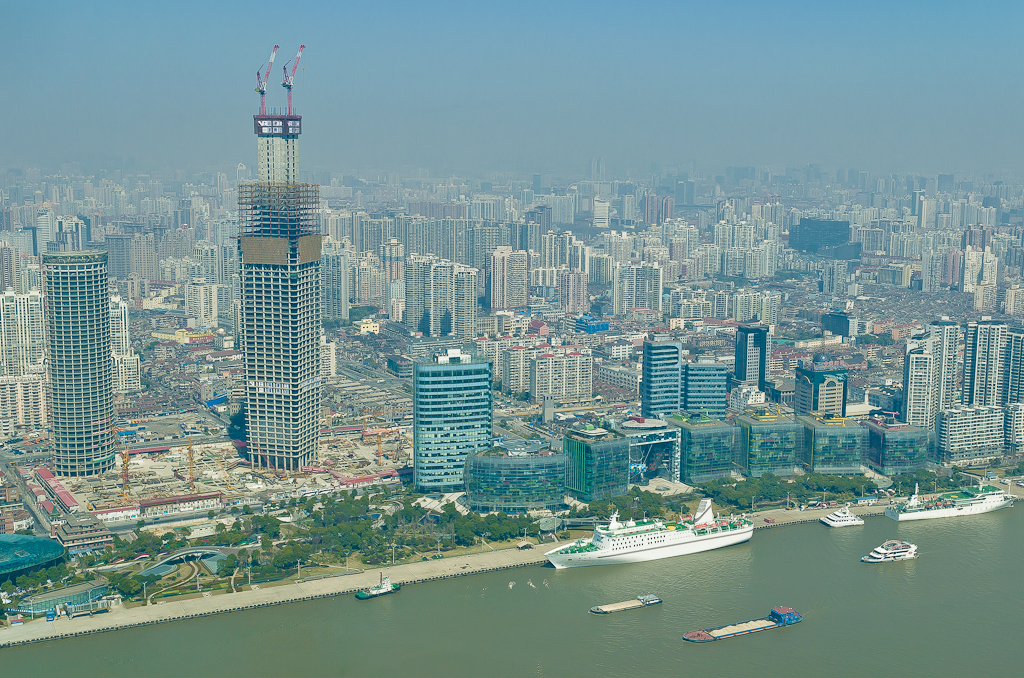 15. Виды с телебашни на Шанхай. Что посмотреть в городе за один день. Отзывы туристов о поездке в Китай самостоятельно.