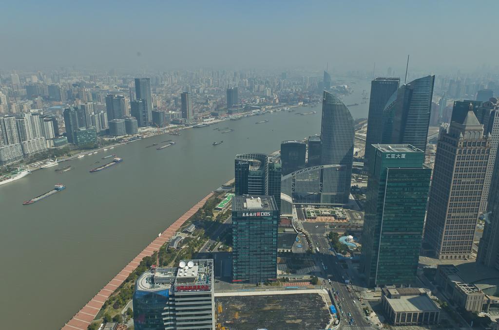 20. Панорама реки Хуанпу в Шанхае. Отзывы об экскурсиях по городу. Поездка по Китаю во второй раз.