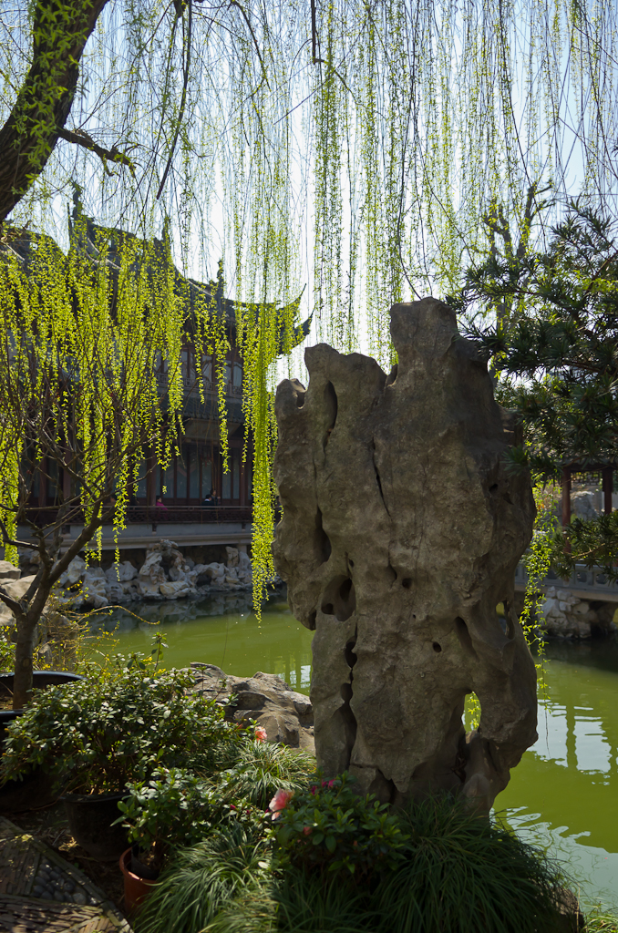 7. Весна в парке Сад Радости (Yu Garden) в Шанхае. Отзывы туристов о путешествиях по Китаю.