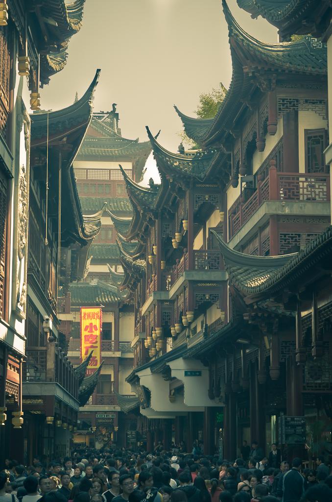 16. Старый город в Шанхае. Вот что будет вас ждать во время поездки в Китай дикарем, если путешествие случится в праздничные дни.