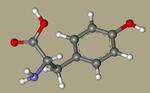 DL-Tyrosine - 556-03-6, tyrosin, H-DL-Tyr-OH, Poly-L-tyrosine, Tyrosine, DL-, L-Tryosine, CHEBI18186, 3-(4-Hydroxyphenyl)-DL-alanine, AG-F-94570-CID_1153+.png