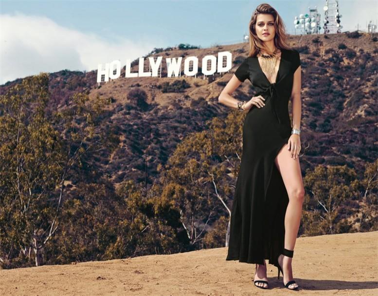 Прогулка по Голливуду - Ана Беатрис Баррош / Ana Beatriz Barros for Revolve Clothing 10 Year Holiday Line