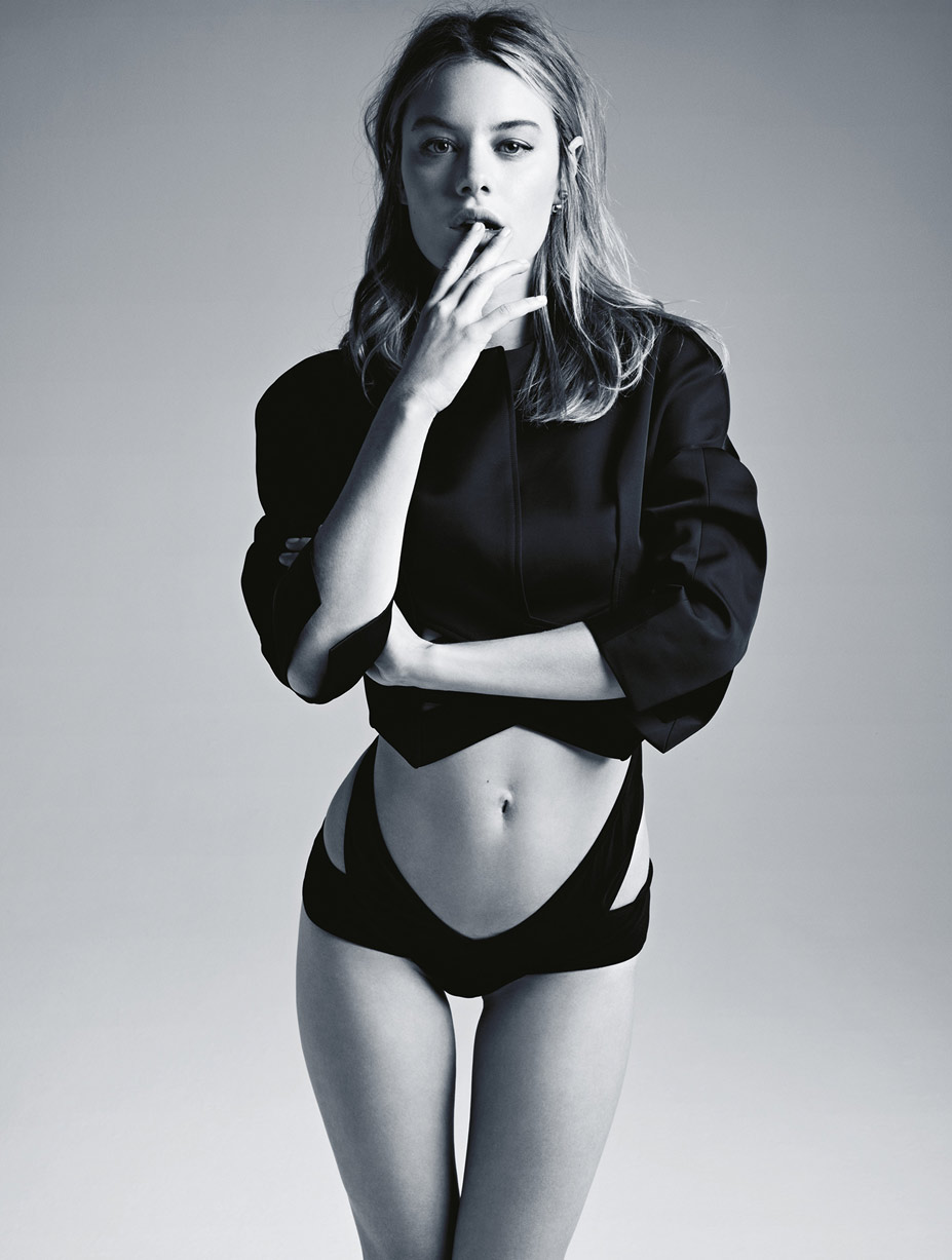 Камиль Роу / Camille Rowe by Christophe Meimoon in Madame Figaro 2014