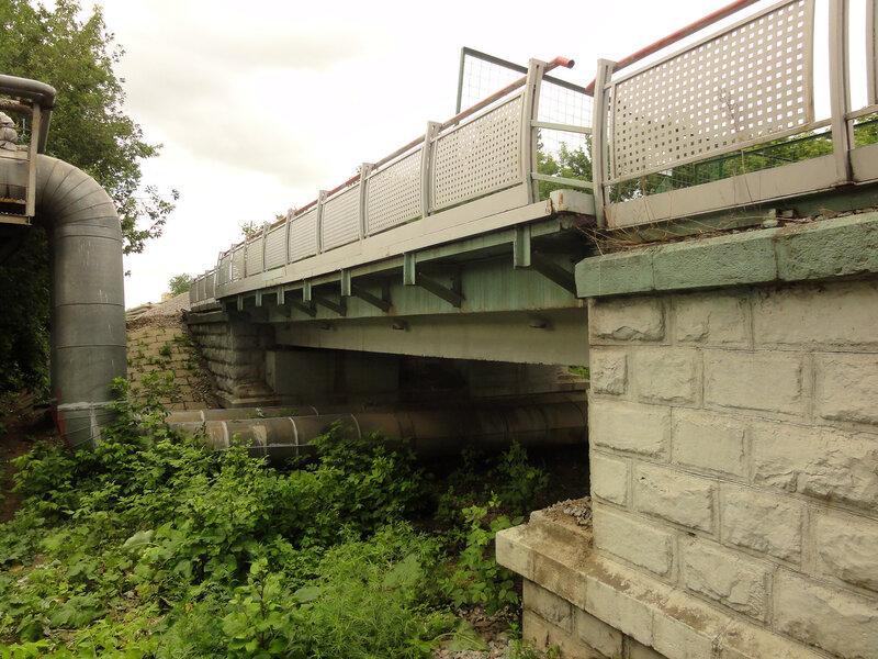 Мост на перегоне Сер-Бор - Пресня